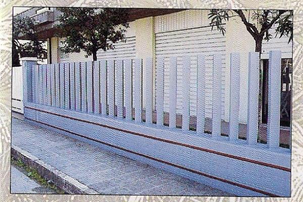 Recinzioni Per Giardino In Cemento.Paletto A In Cemento Grigio Per Recinzione Cm 9 5x9 5x112h
